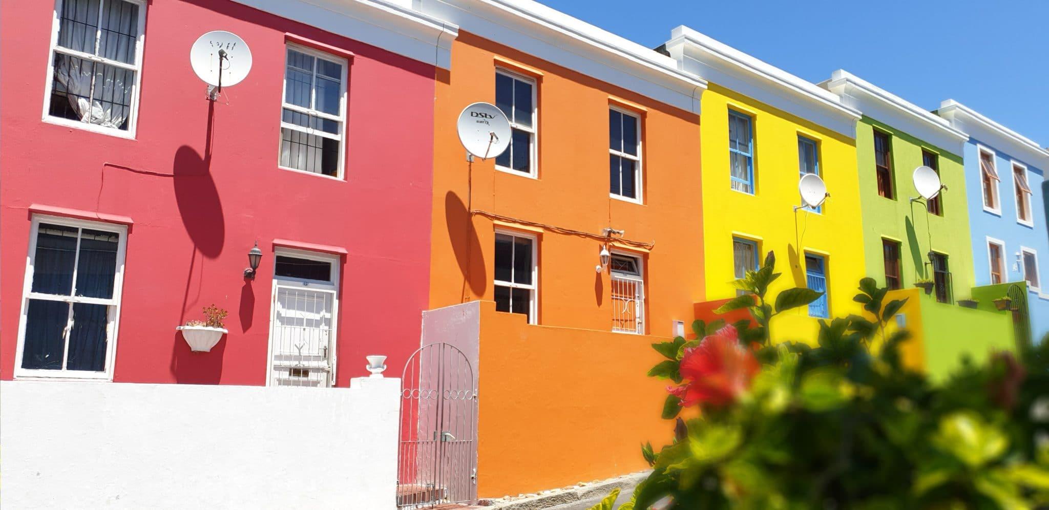 maisons colorées du quartier de bo-kaap carnet de voyage capetown