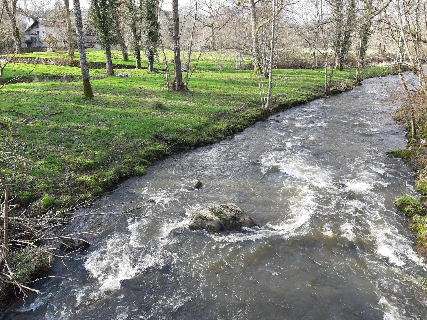 rivière saint auvent randonnée