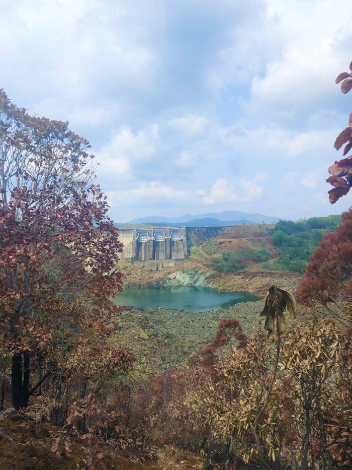 le barrage yaté