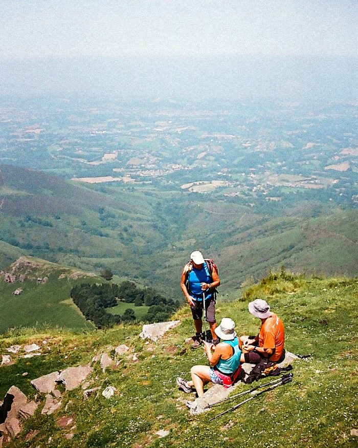 panorama randonnée massif de la rhune