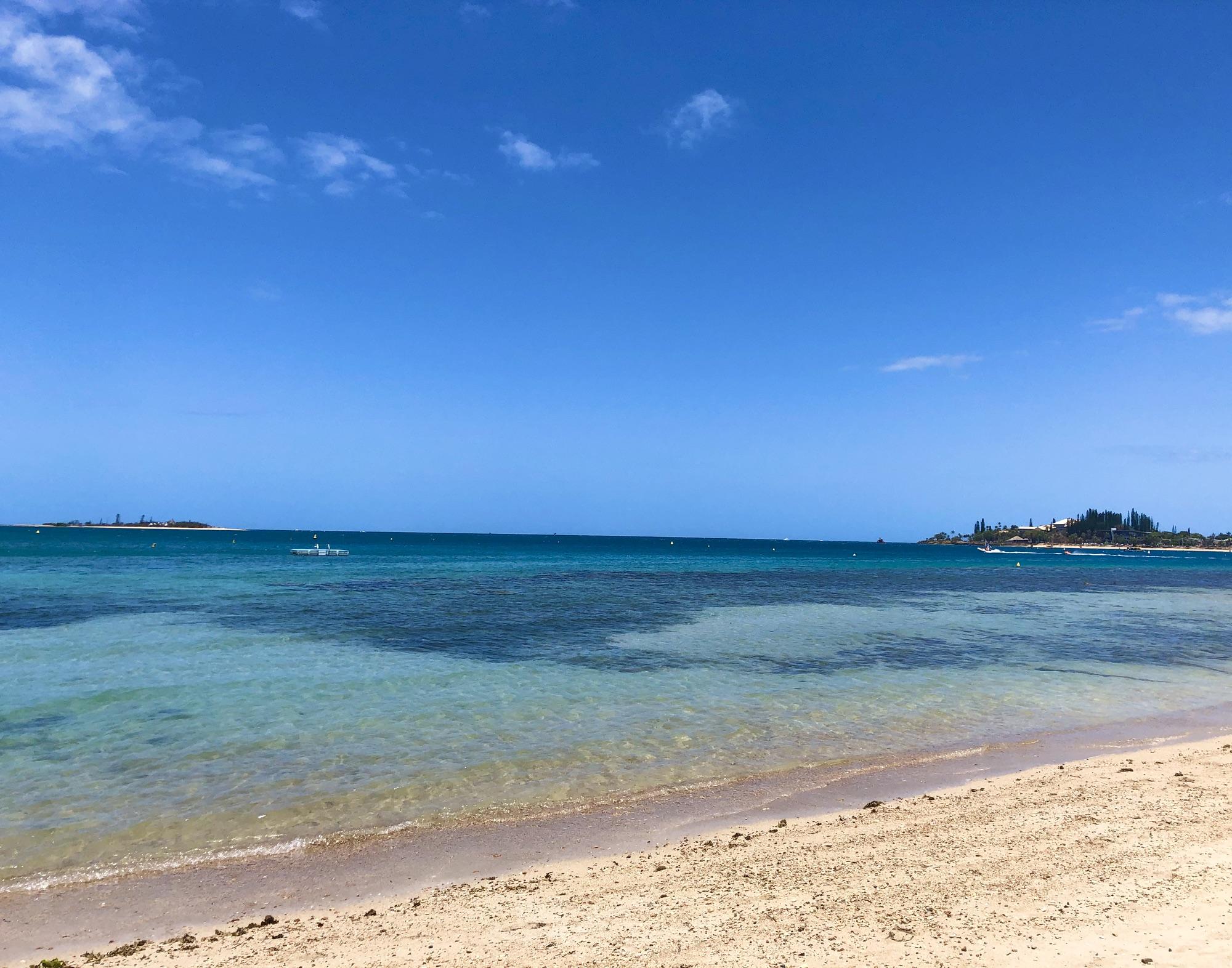 la plage du méridien noumea visiter sud nouvelle calédonie