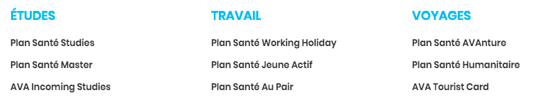 plan gobyava assurance voyage