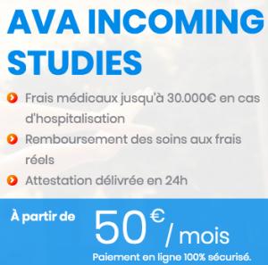 plan santé ava incoming studies Gobyava