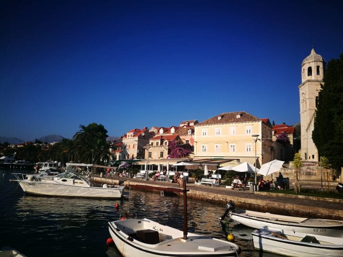 Port de Cavtat itinéraire croatie