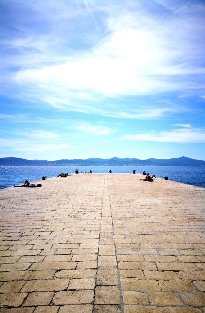 photo port de Zadar Itinétaire croatie