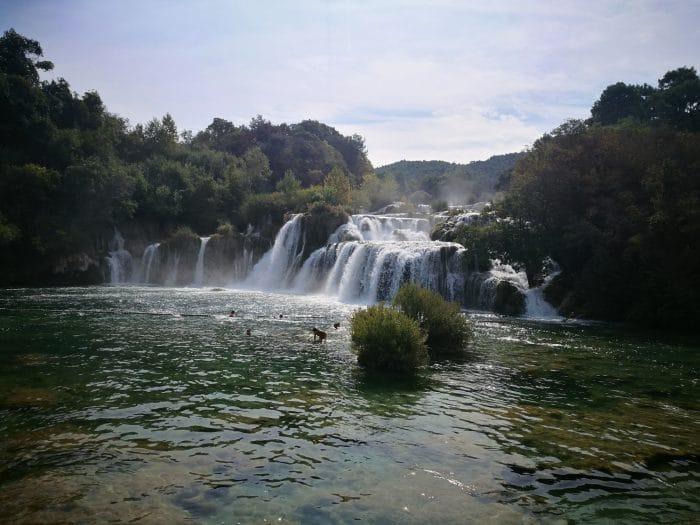 cascades du parck krka