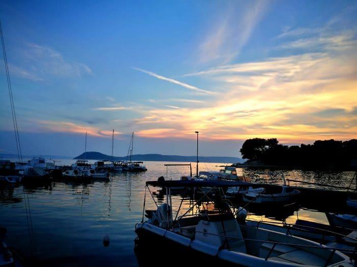 port de split itinéraire croatie