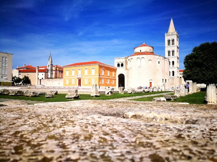 photo centre ville de Zadar