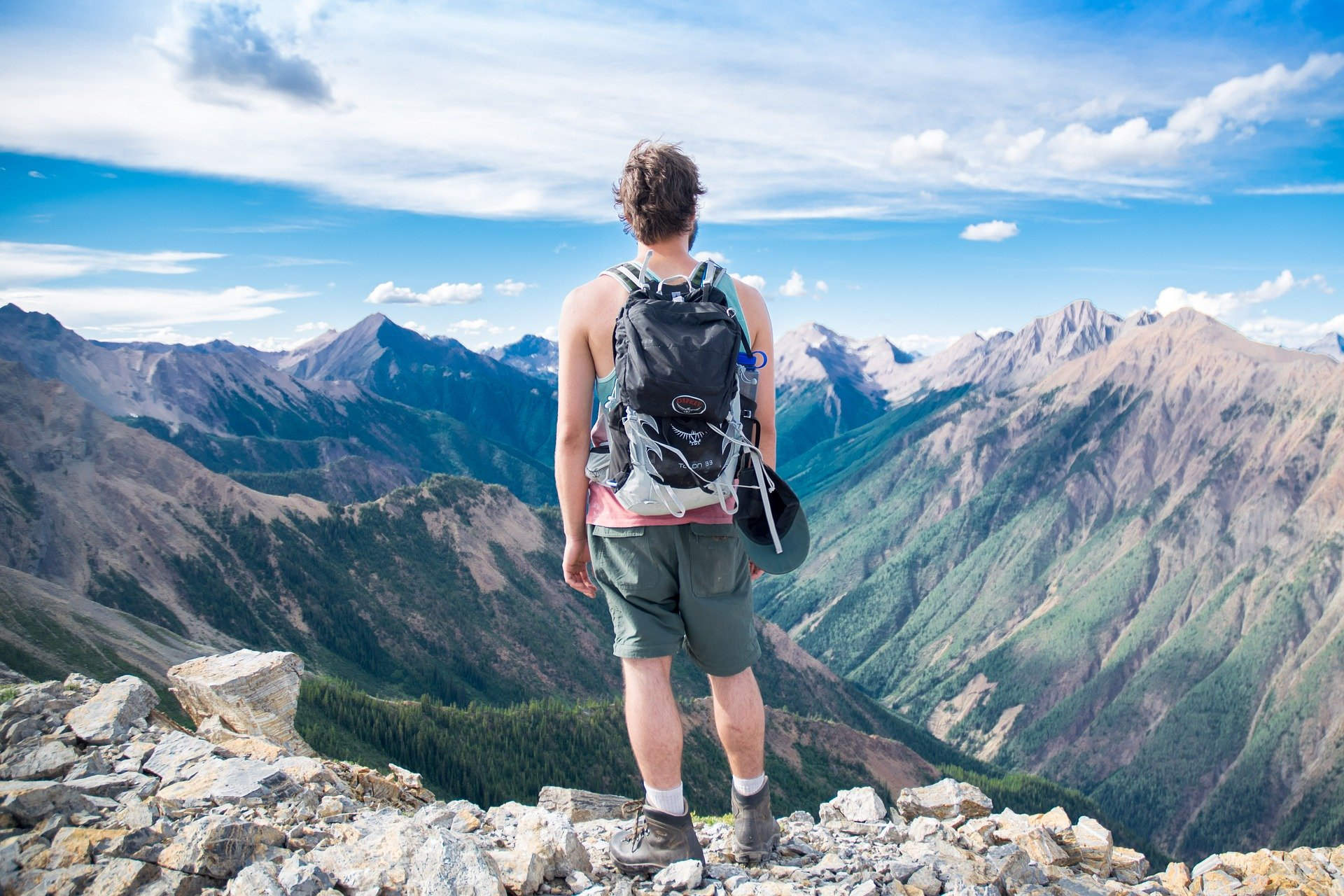 Aventurier montagne