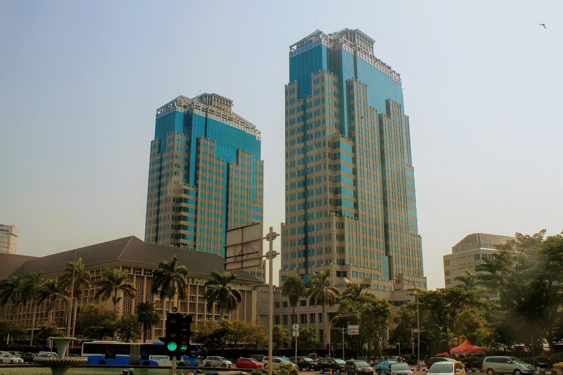 Le centre architectural de Jakarta