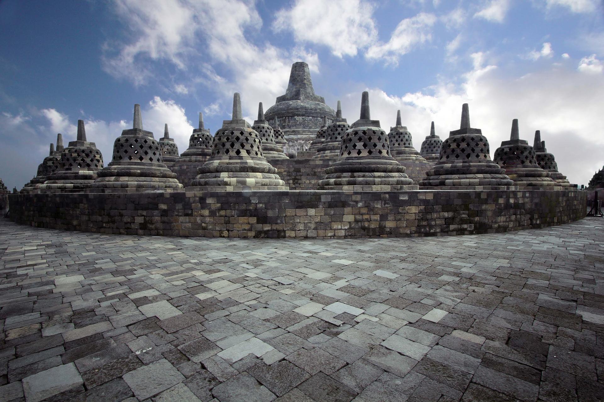 Le temple de Borobudur