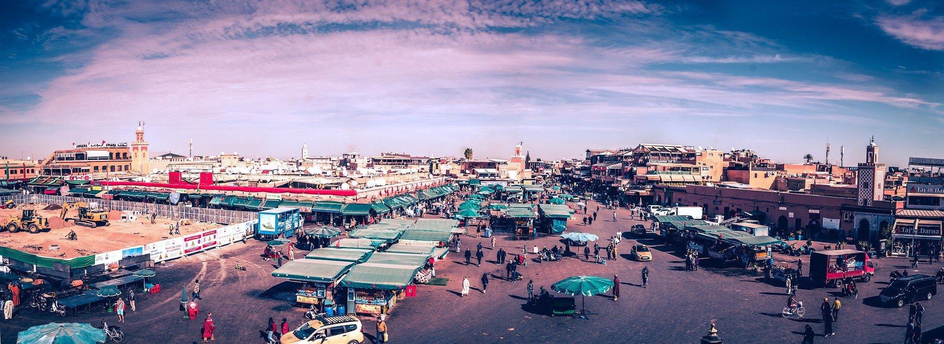 souk de marrakech