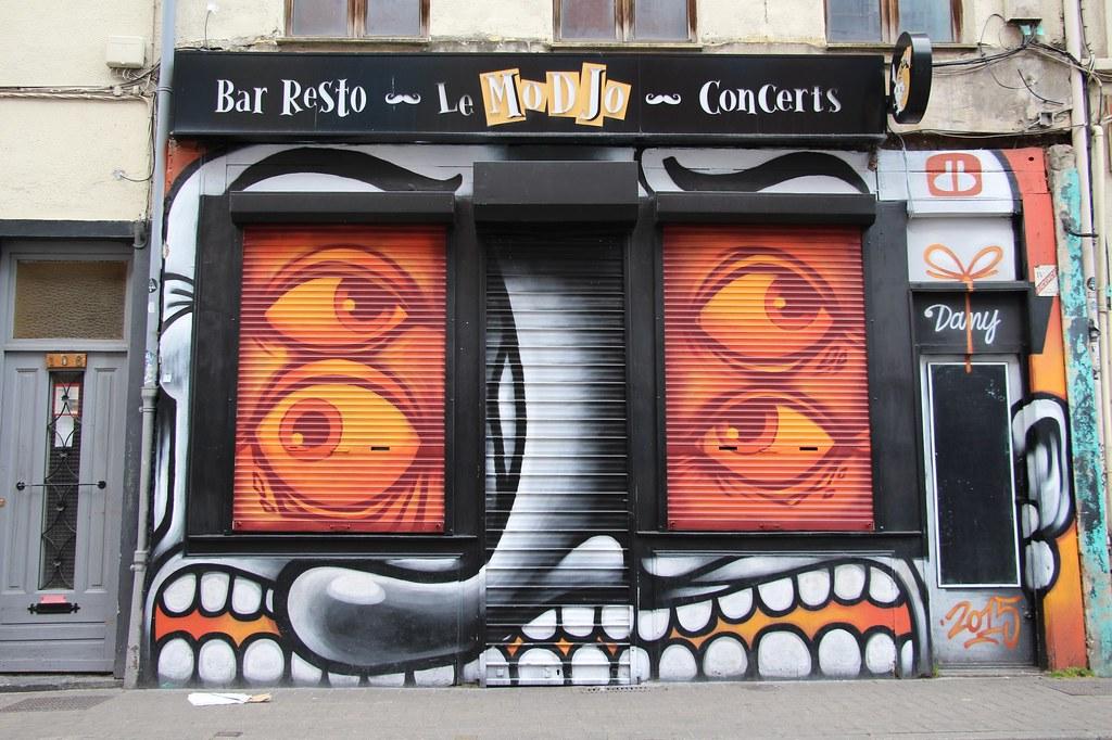 Street art au bar Modjo