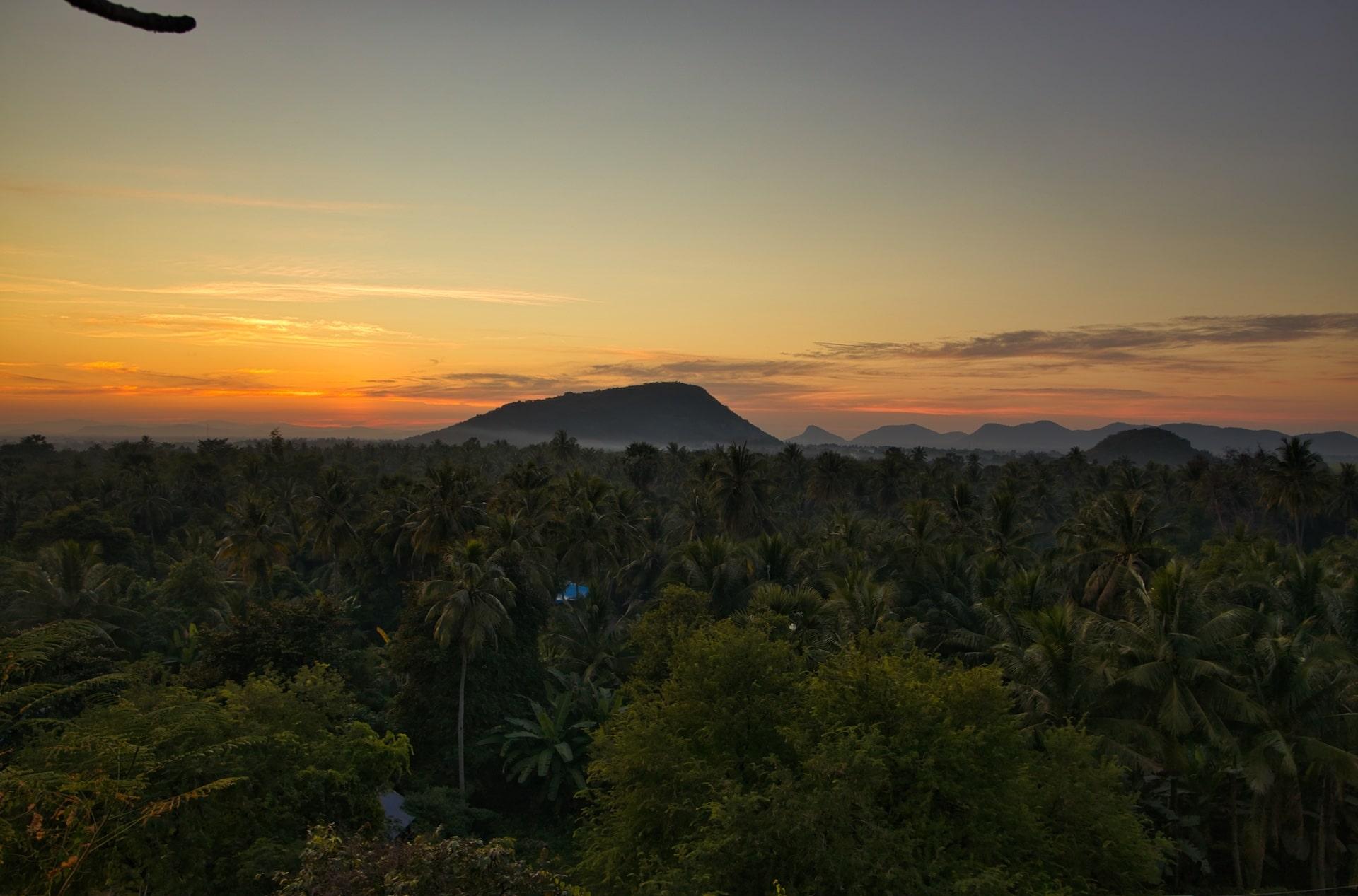 coucher de soleil battambang