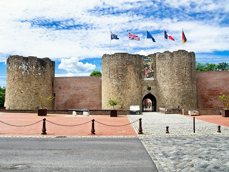 Le chateau de Péronne