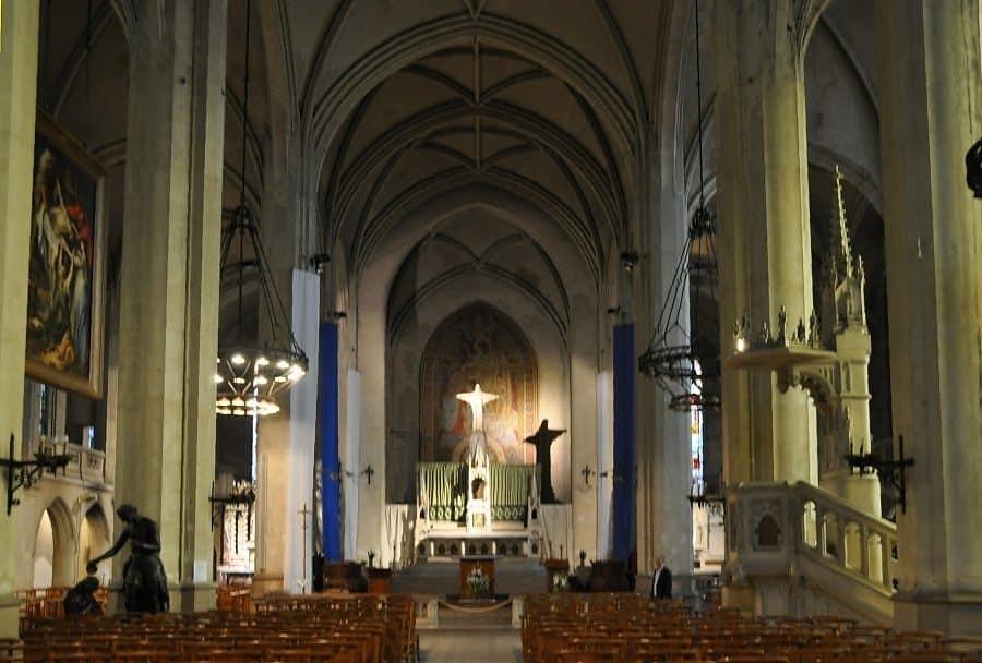 """l""""église saint jean baptiste d'arras"""