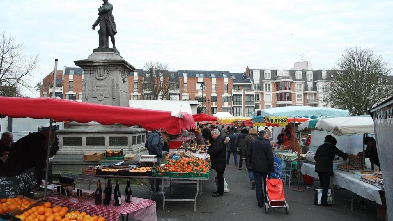 Le marché du vieux Lille