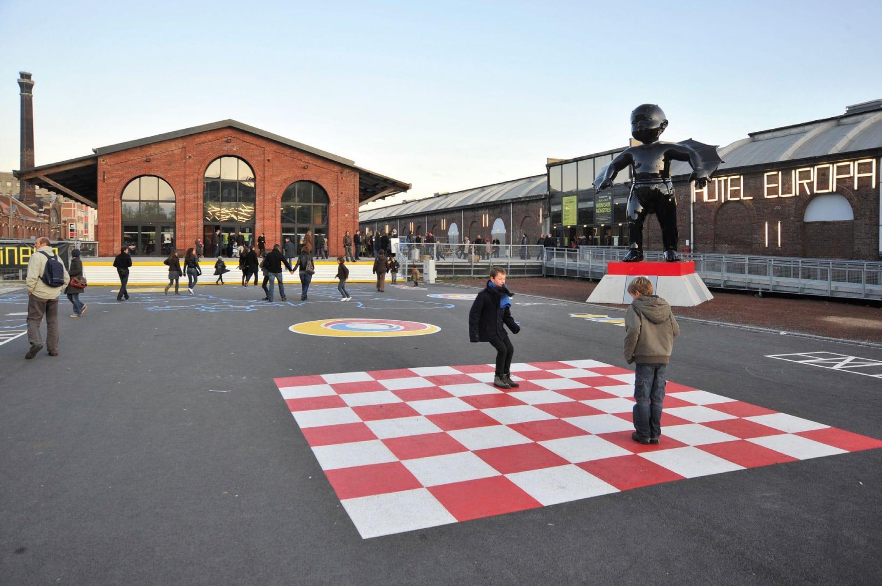 La gare Saint Sauveur