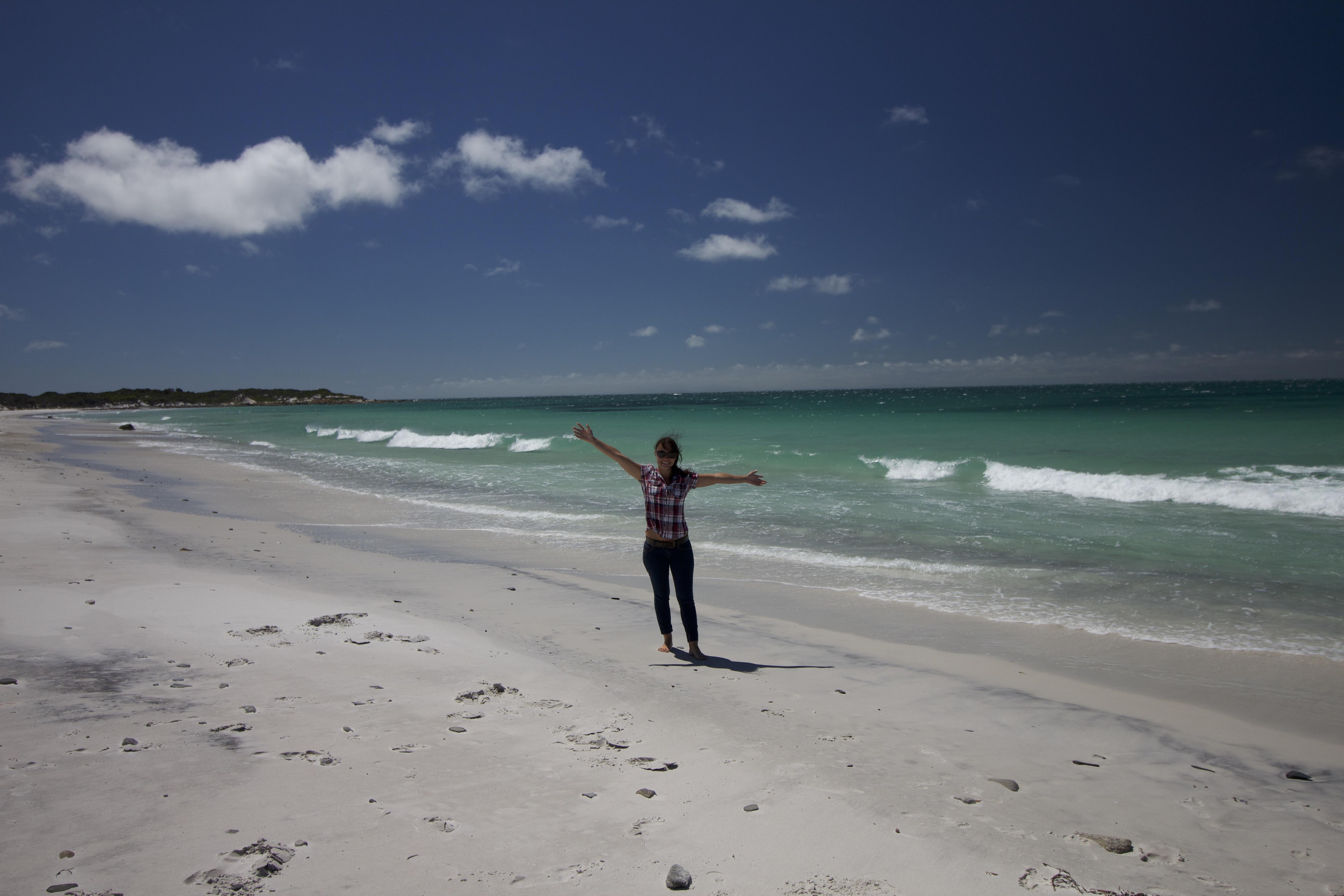 plage tasmanie