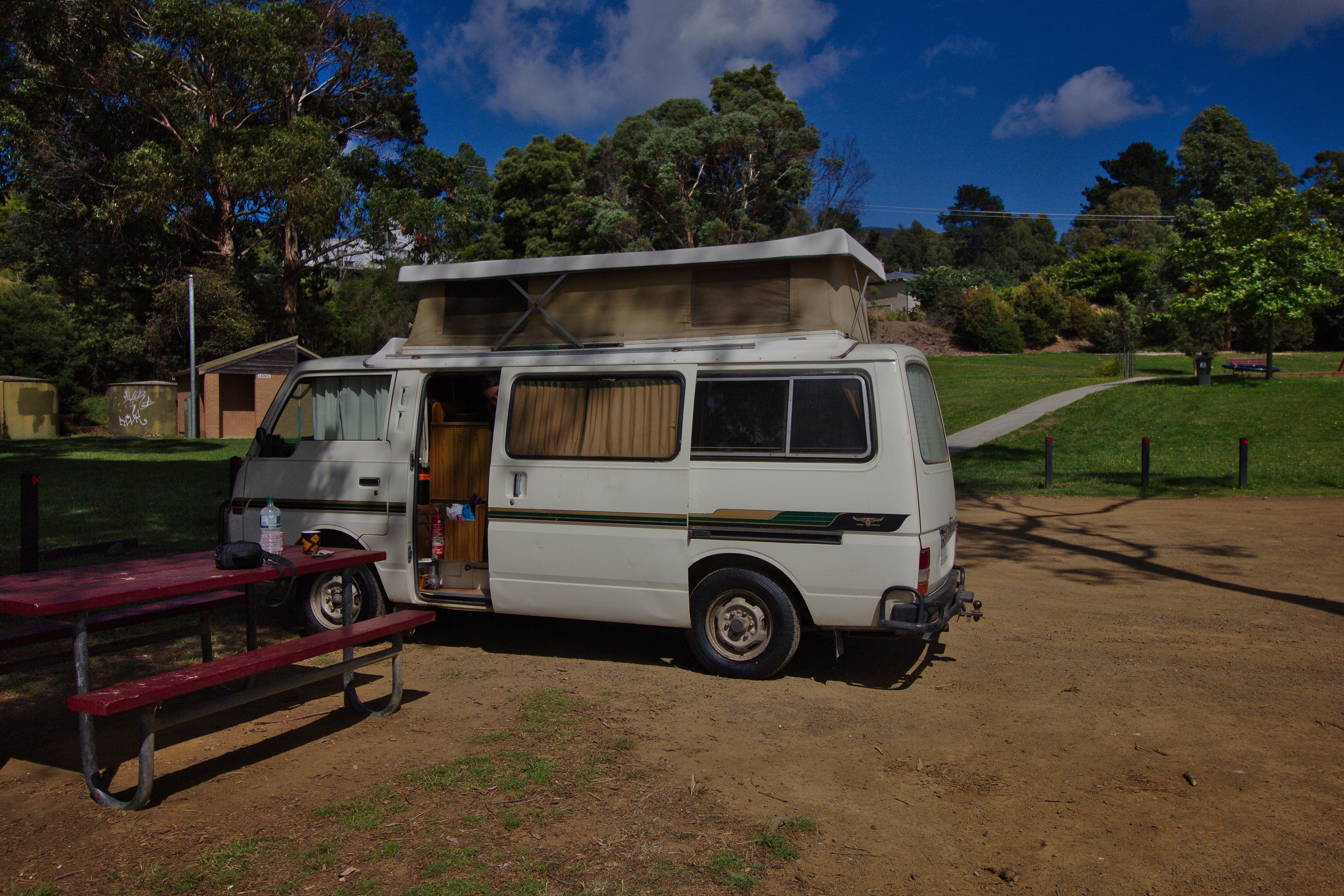 van road trip australie