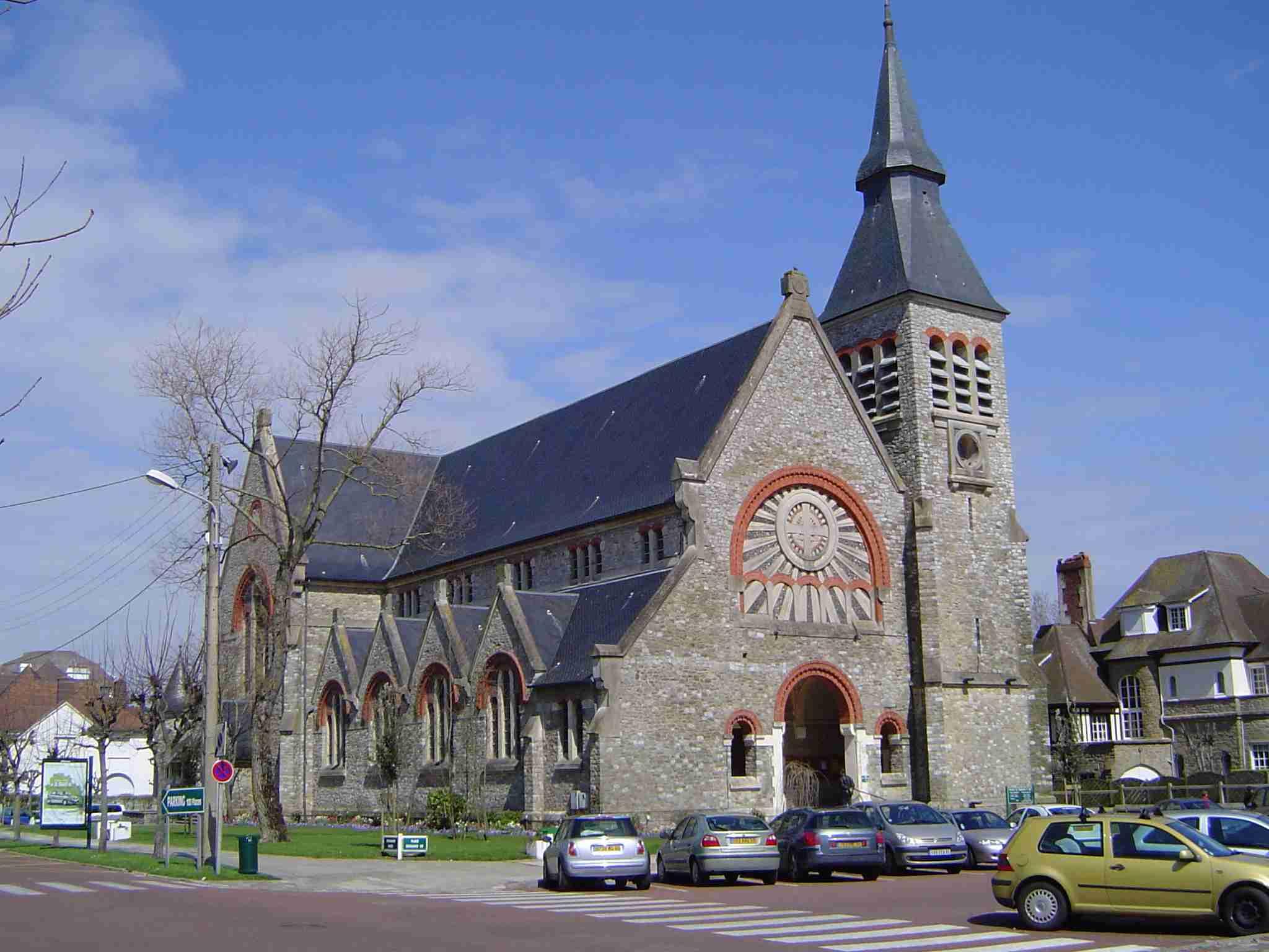 L'église Sainte Jeanne D'arc du Touquet