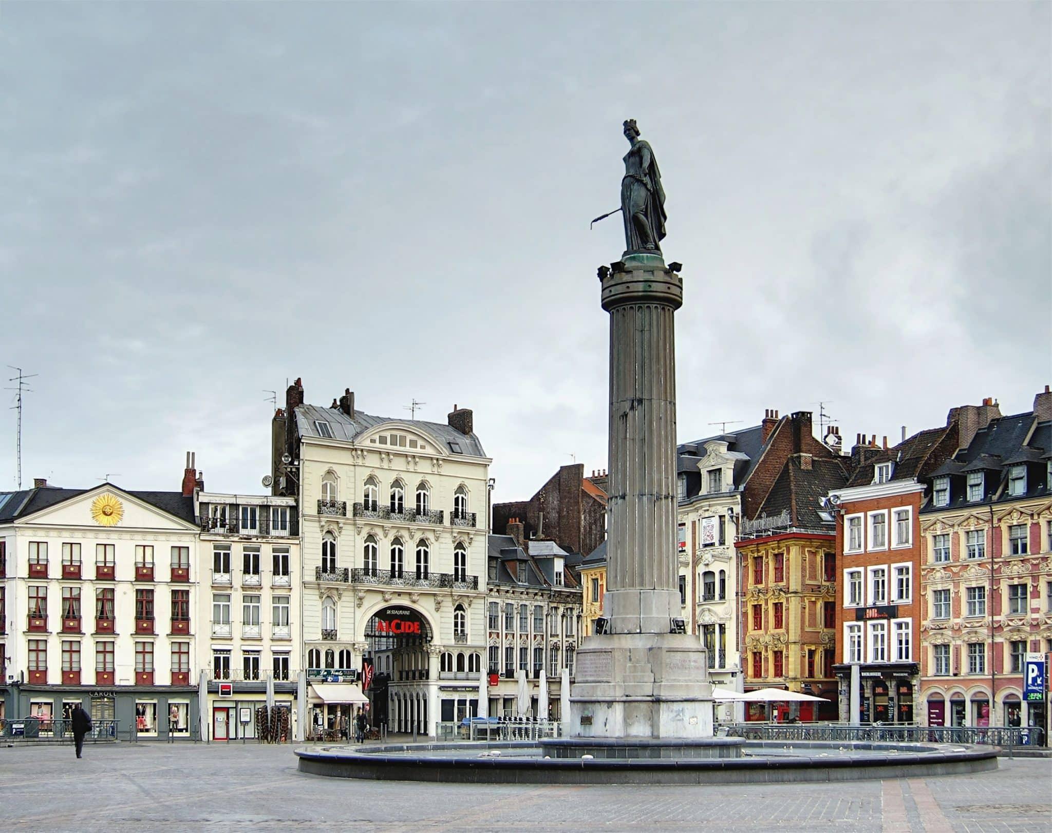 Colonne de la déesse de Lille