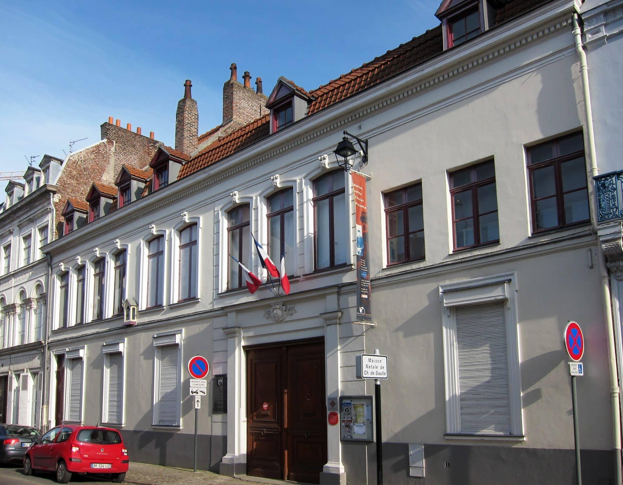 La maison natale de Charles de Gaule