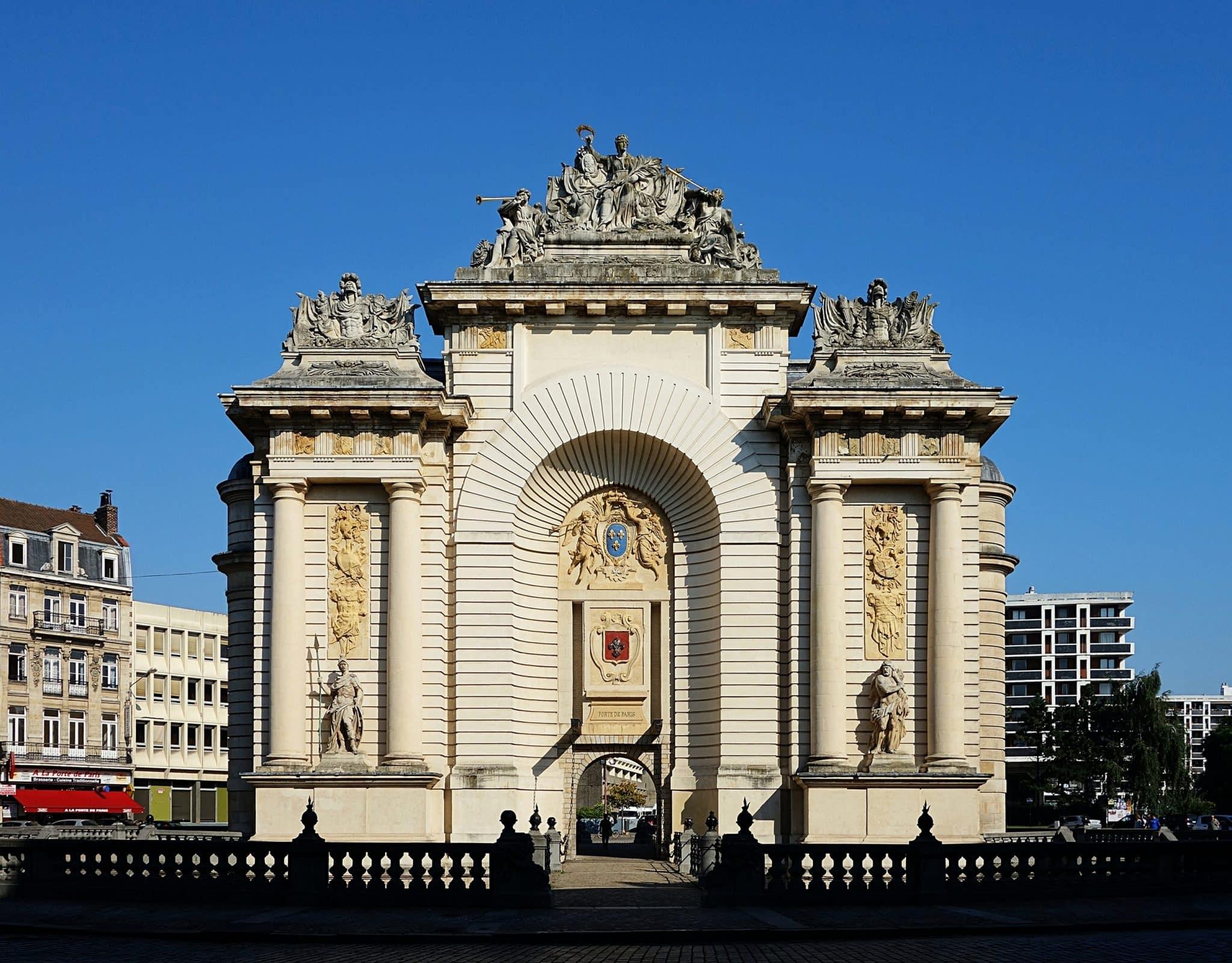 La porte de Paris de Lille