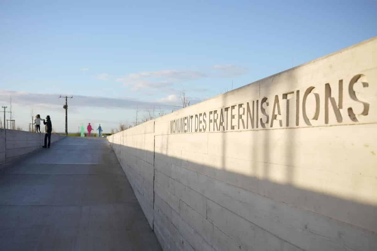 Le monument des fraternisations