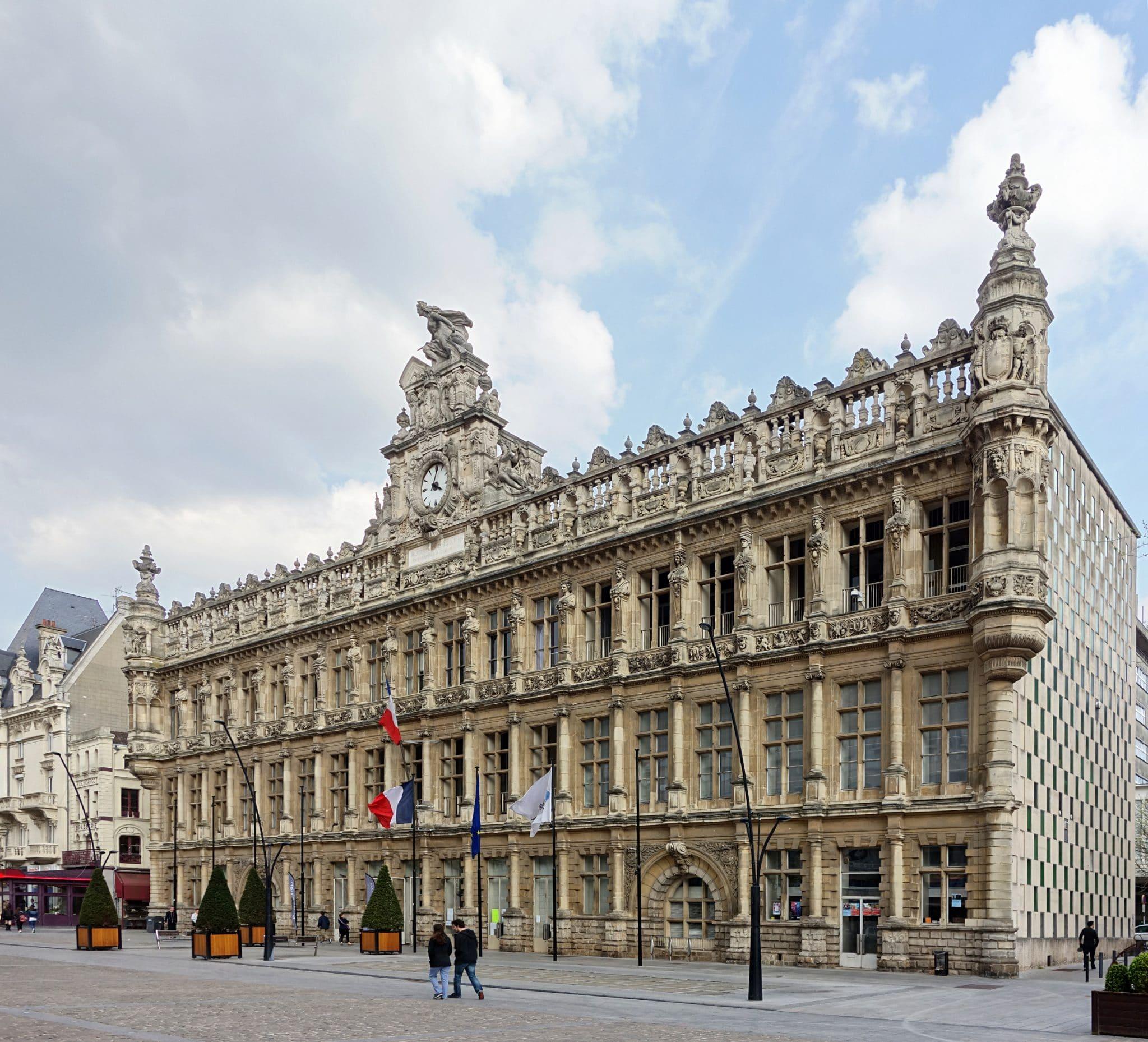 L'hôtel de ville de Valenciennes