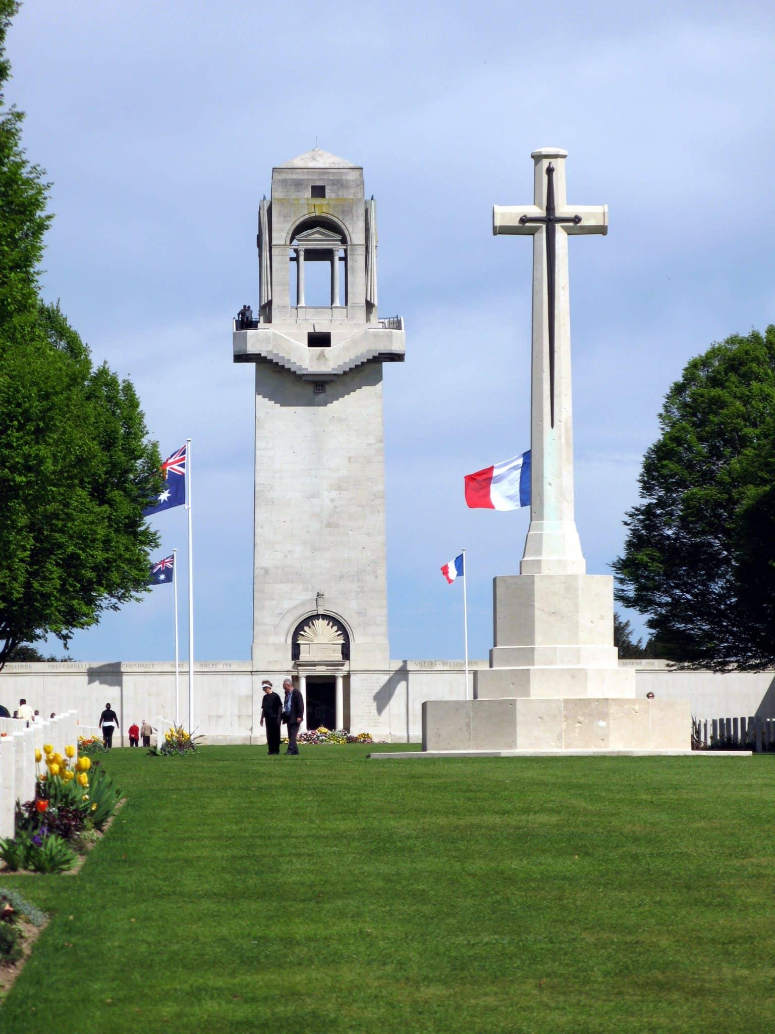 Le mémorial de Villers-bretonneux
