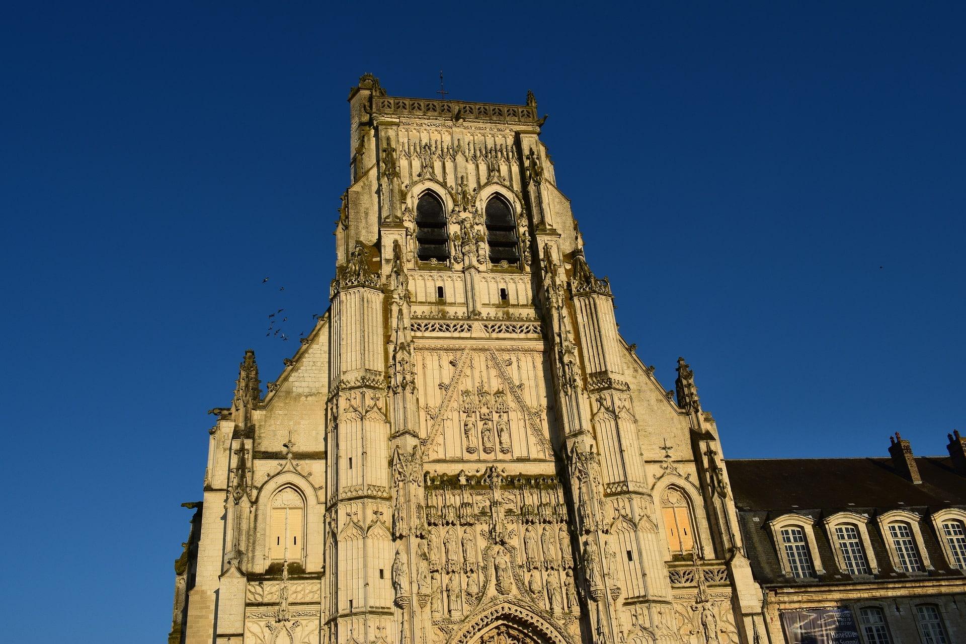L'abbaye de Saint Riquier à Abbeville