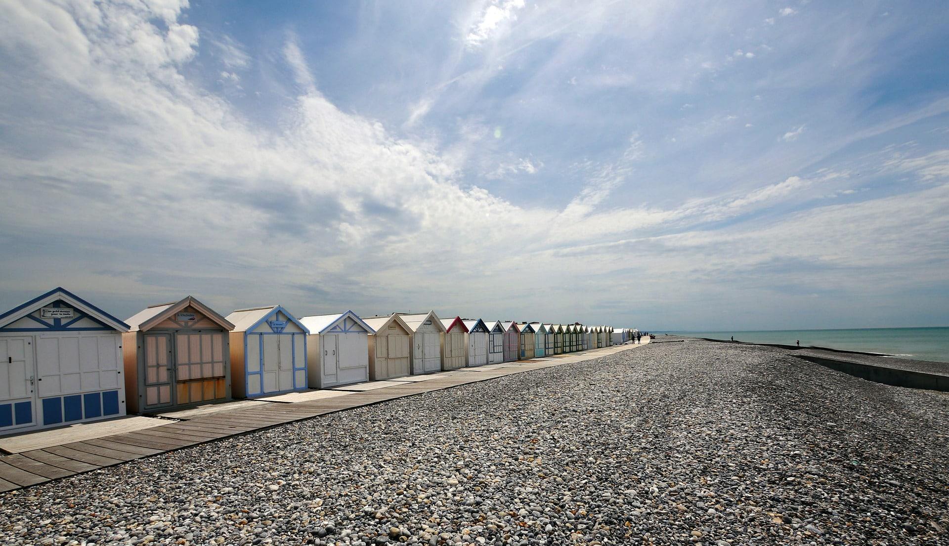 Cabines de plages de Cayeux-sur-Mer