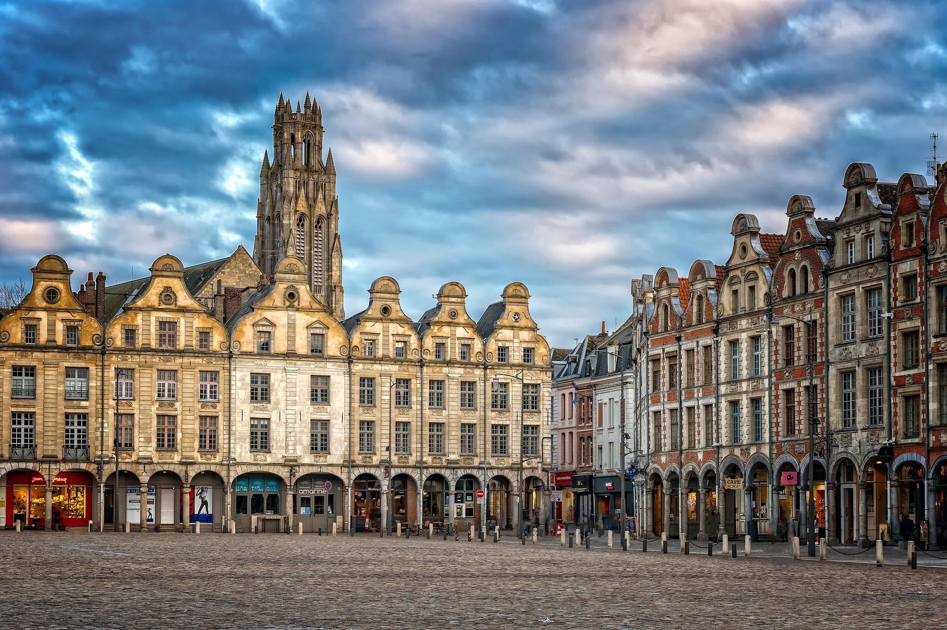 La Grand-Place d'Arras