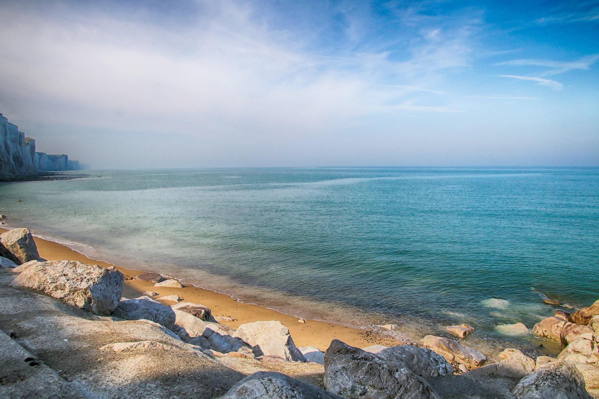 La plage de Ault