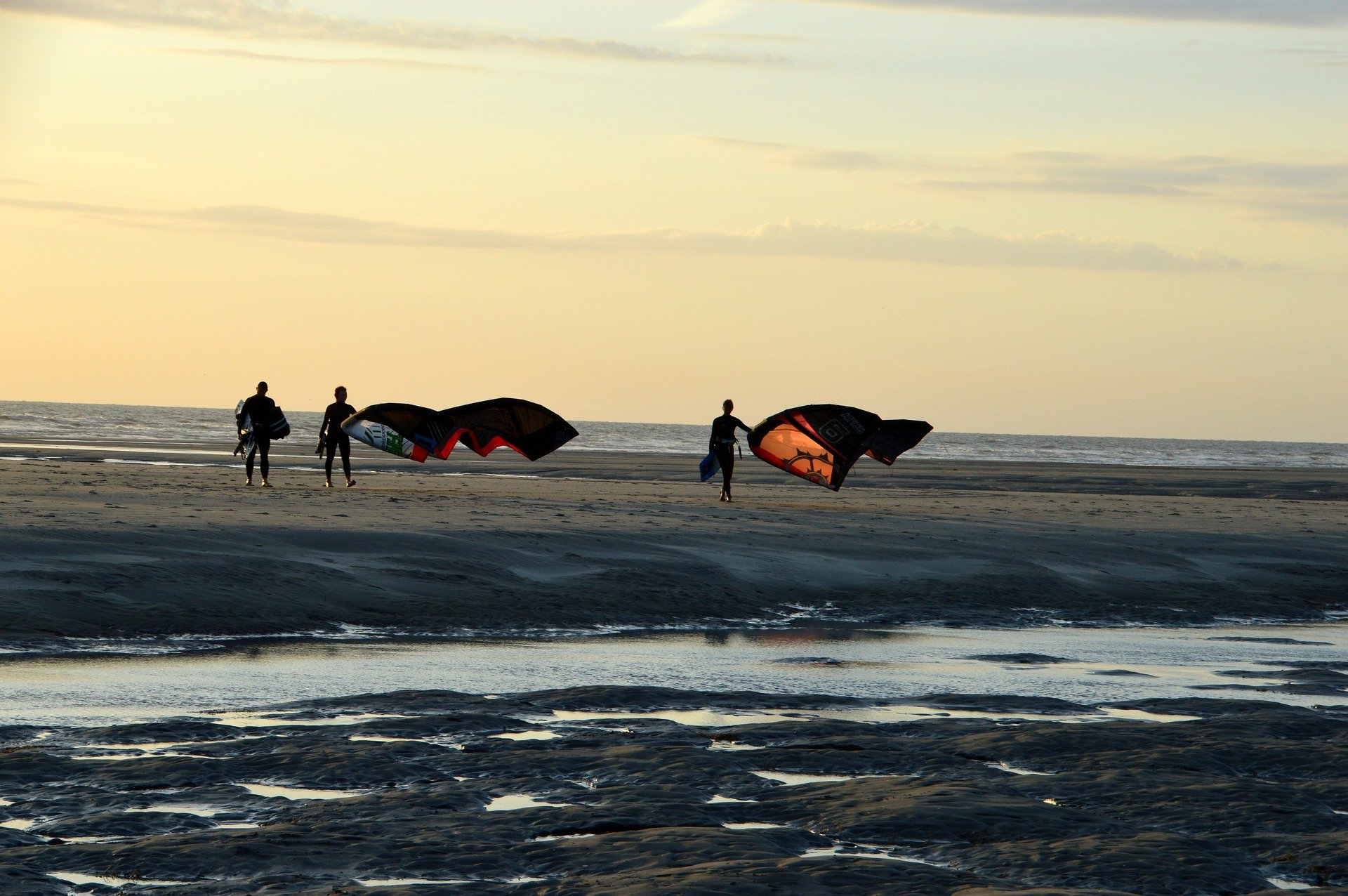 plage du touquet kite surf