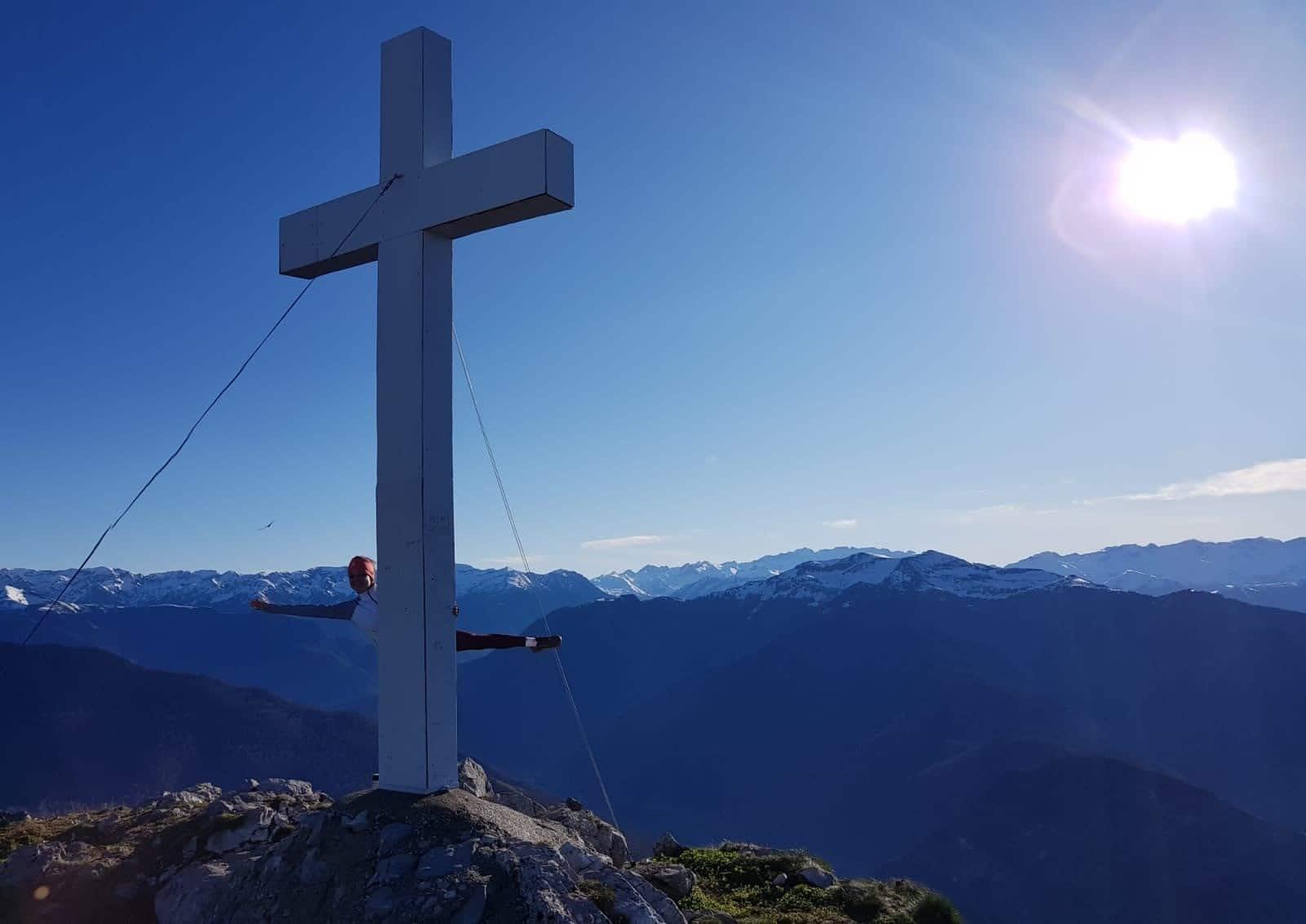 croix au pic du gar