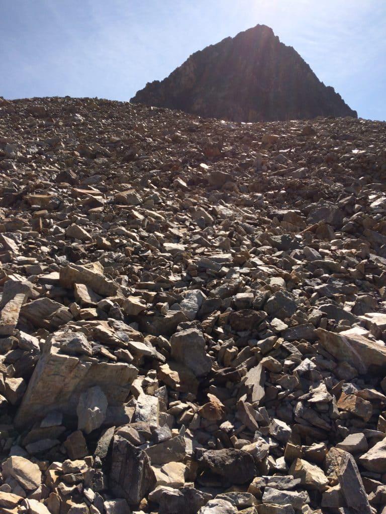 cailloux montagne