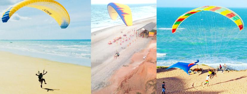 parachute plage