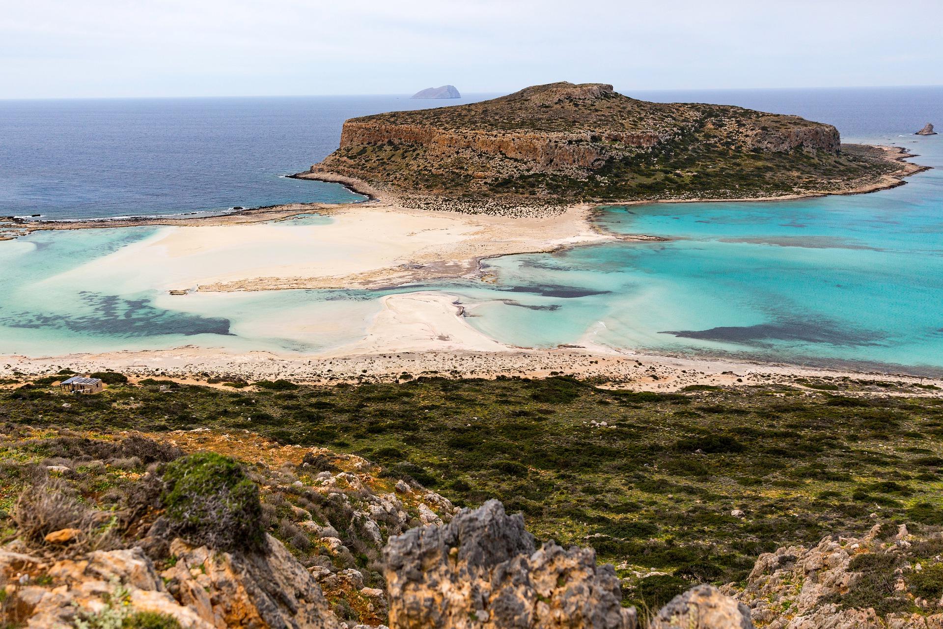 balos beach lagon