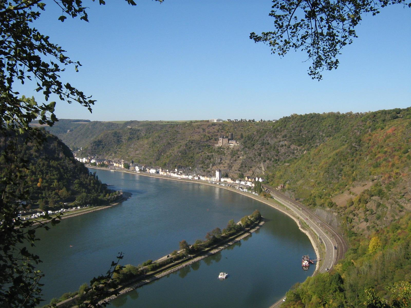 vue vallée du haut rhin