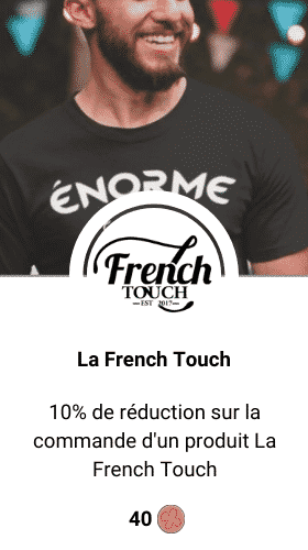 code promo la french touch