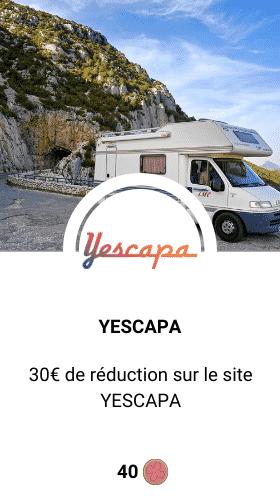 code promo Yescapa