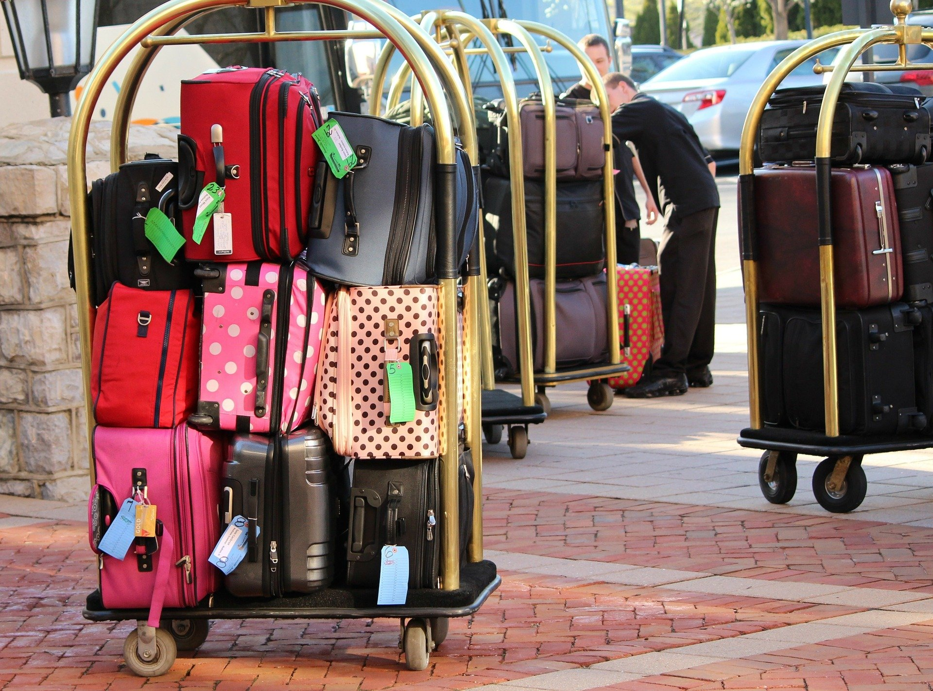 bagages hotel cart