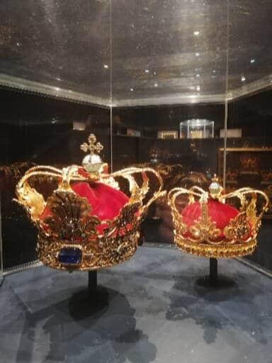 courones chateau de rosenborg