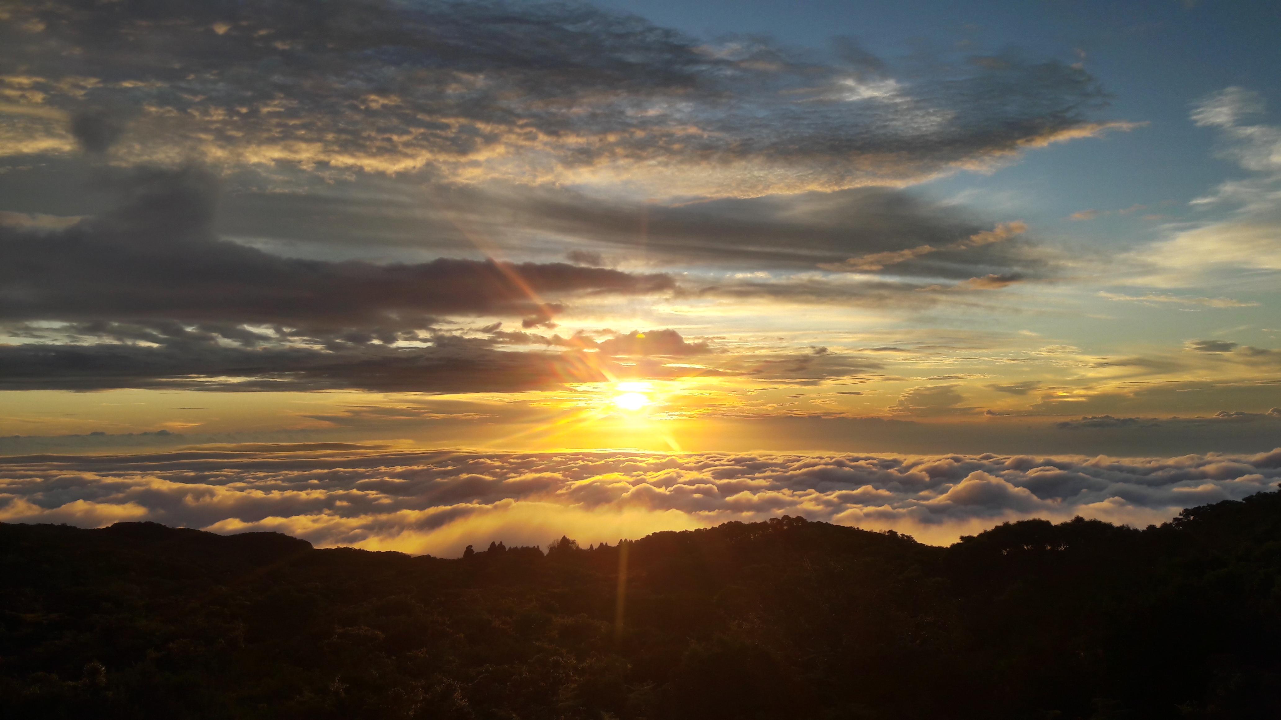 coucher de soleil mafate
