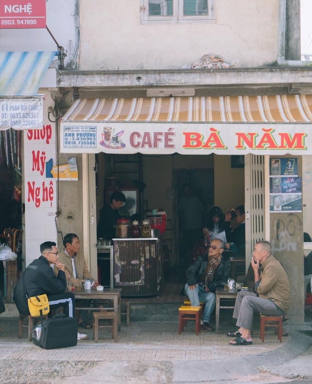 café ba nam vietnam