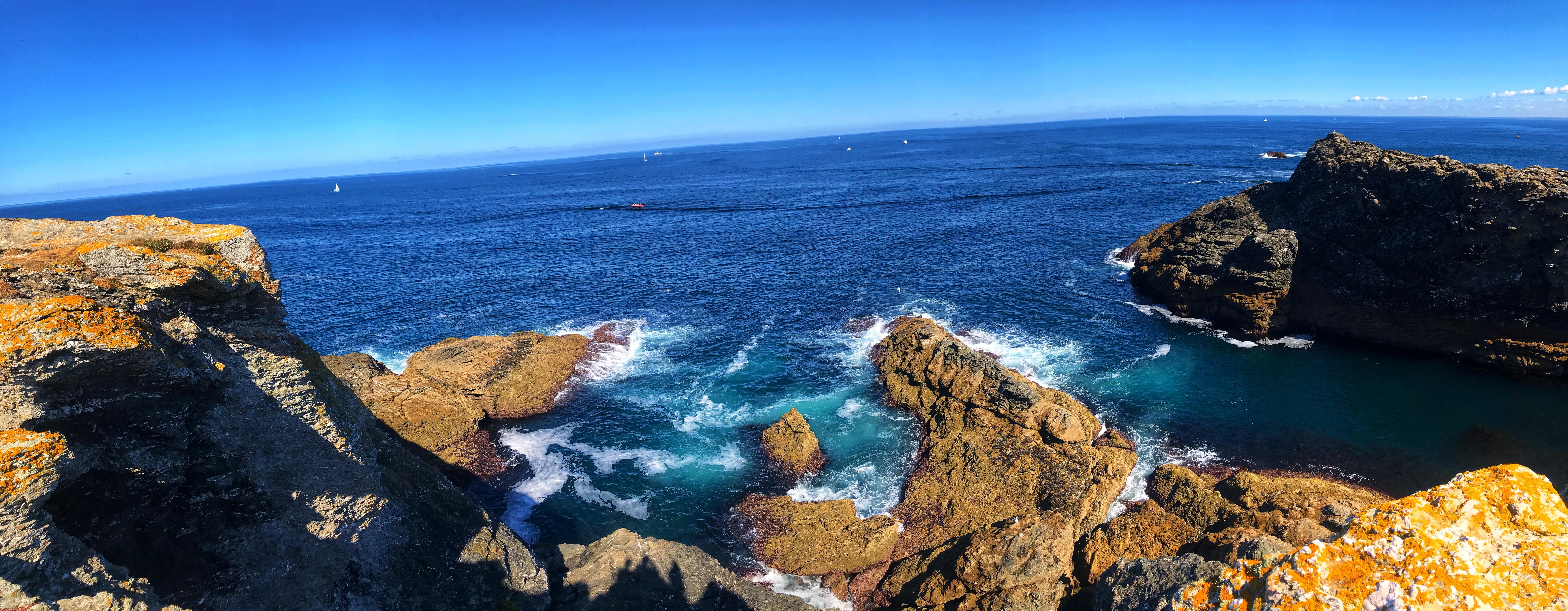 panorama belle ile en mer