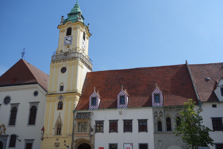hôtel de ville bratislava