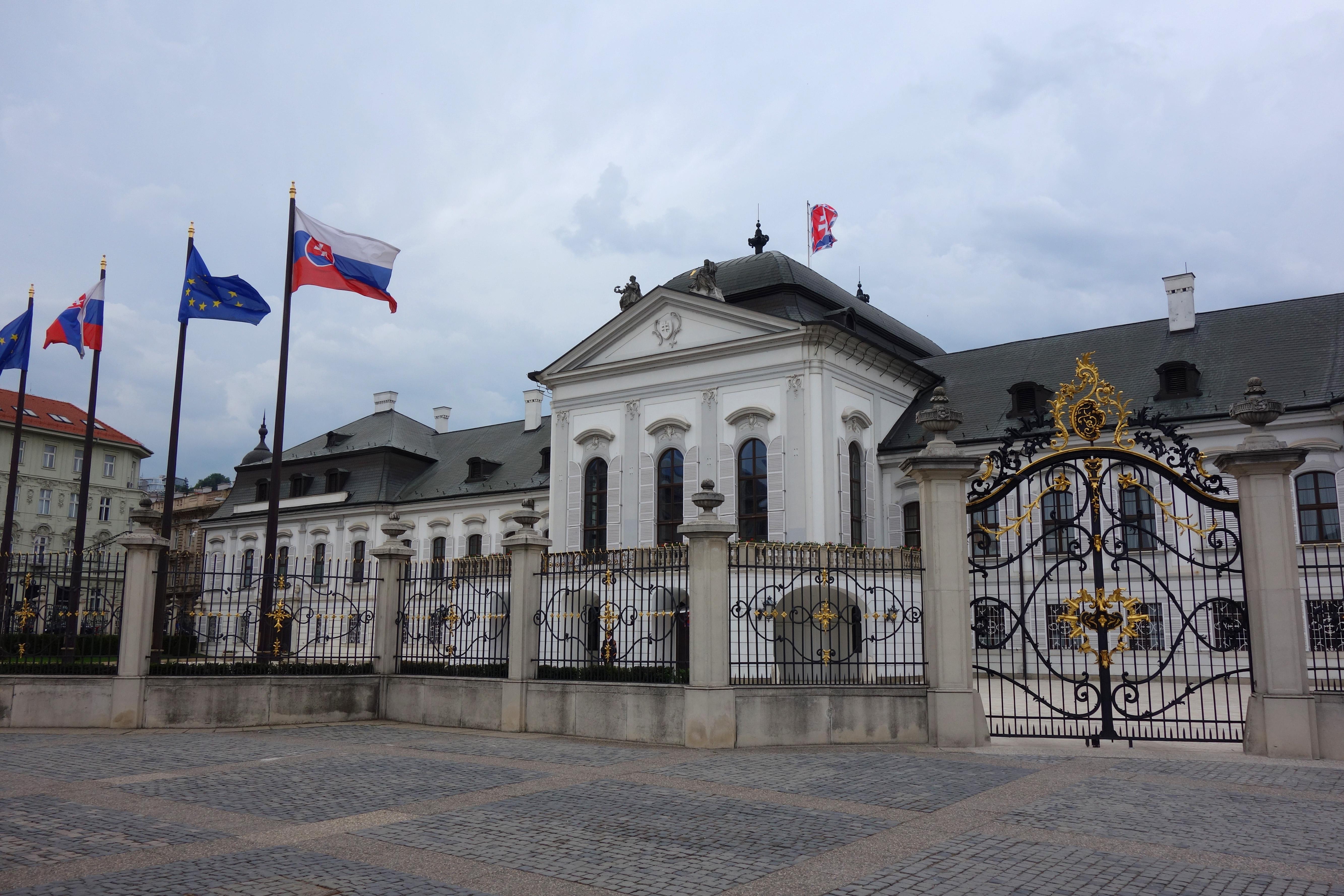 visiter le palais grassalkovitch bratisalava